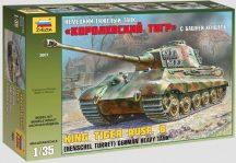 Zvezda  King Tiger Ausf. B (Henschel Turret)