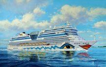 Revell Cruiser Ship AIDAblu, AIDAsol, AIDAmar, AIDAstella