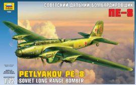 Zvezda Petljakov Pe-8 Soviet long range bomber