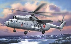 Amodel Mil Mi-6 Soviet helicopter, early