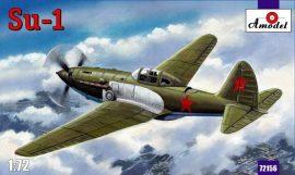 Amodel Sukhoi Su-1 Soviet fighter