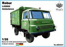 Balaton Model Robur LO 2002 ambulance
