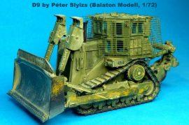 Balaton Model D-9 R armoured dozer (IDF version)