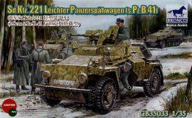 Bronco Sd.Kfz.221 Leichter Panzerspahwagen (s.Pz.B.41)