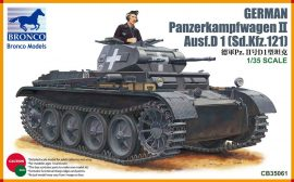 Bronco Pz.Kpfw.II Ausf.D1