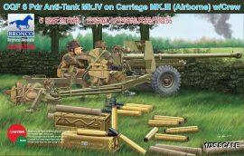 Bronco OQF 6 Pdr Anti-Tank Gun Mk.IV on Carriage Mk.III