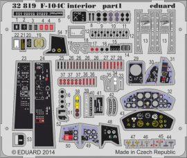 Eduard F-104C interior S.A. (Italeri)
