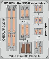 Eduard Do 335B seatbelts (Hong Kong Models)
