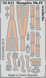 Eduard Mosquito Mk.IV seatbelts (Hong Kong Models)