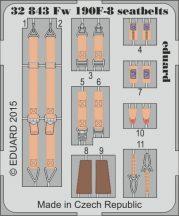 Eduard Fw 190F-8 seatbelts (Revell)