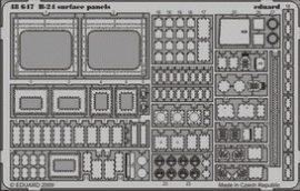 Eduard B-24 surface panels (Revell)