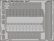Eduard P-40B landing flaps (Airfix)