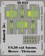 Eduard US Cal.0.30 Ammo. Boxes Vietnam