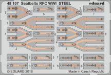 Eduard Seatbelts RFC WWI STEEL