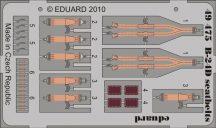 Eduard B-24D seatbelts (Revell)