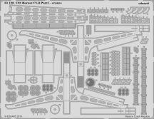 Eduard USS Hornet CV-8 part 1 - cranes (Merit)