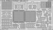 Eduard USS Hornet CV-8 part 2 - radar antennas (Merit)