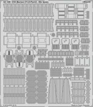Eduard USS Hornet CV-8 part 3 - life boats (Merit)