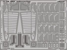 Eduard SB2C undercarriage (Cyber Hobby)