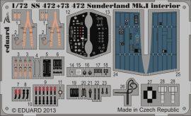 Eduard Sunderland Mk.I interior S.A. (Italeri)