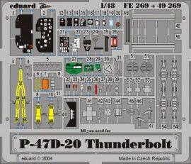 Eduard P-47D-20 (Hasegawa)