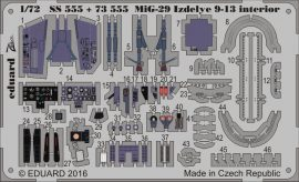 Eduard MiG-29 Izdelye 9-13 interior (Zvezda)