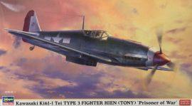 Hasegawa Kawasaki Ki61-I Tei TYPE 3 Fighter HIEN (TONY)
