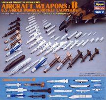 Hasegawa U.S. AIRCRAFT WEAPONS B
