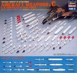Hasegawa U.S. AIRCRAFT WEAPONS C