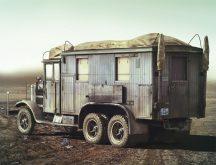 ICM Krupp L3H163 Kfz.72 German Radio Truck