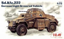 ICM Sd.Kfz.222 German Light Armoured Vehicle