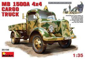 MiniArt MB L 1500 A 4x4 Cargo Truck