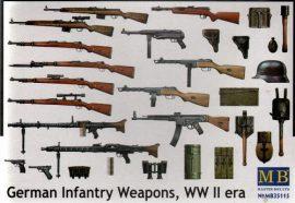 Masterbox German Infantry Weapons WW II