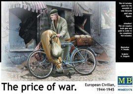 Masterbox European Civilian on Bike