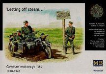 Masterbox German Motorcyclists 1940-1943