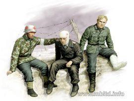 "Masterbox ""Ticket home"". German soldiers"