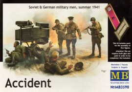 Masterbox Accident, Soviet & German Military, Summer 1941