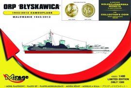 Mirage ORP 'Blyskawica' 1943/2012 Camouflage