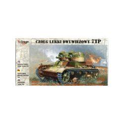Mirage 7TP Polish light tank (twin turret)