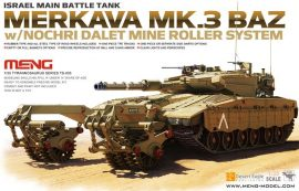 Meng Model Merkava Mk.3 BAZ