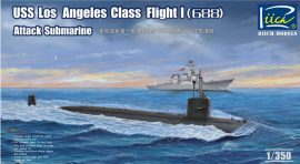 Riich Models USS Los Angeles Class Flight I (688)