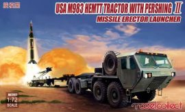Modelcollect USA M983 HEMTT Tractor with Pershing II