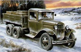 Unimodels Truck GAZ-AAA