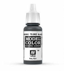 Vallejo Model Color 168 Black Grey