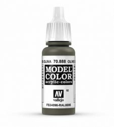 Vallejo Model Color 92 Olive Grey