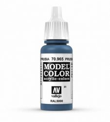 Vallejo Model Color 51 Prussian Blue