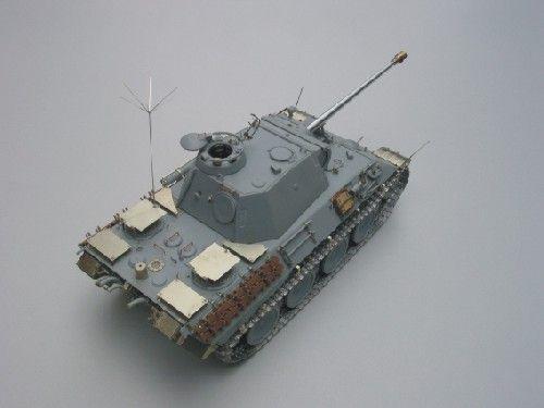 Aber Pz.Kpfw.V Panther Ausf.A/D set