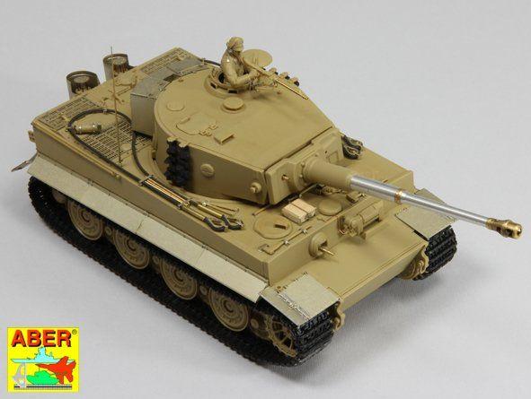 Aber Pz.Kpfw.VI Ausf.E (Sd.Kfz.181) Tiger I - Late version set