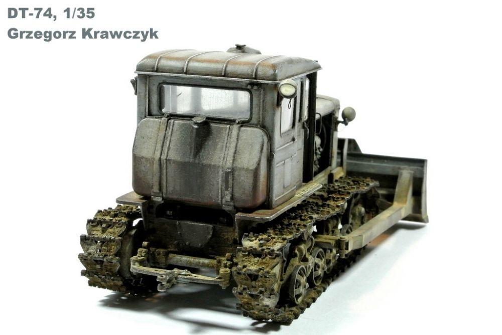 Balaton Model DT-74 soviet dozer