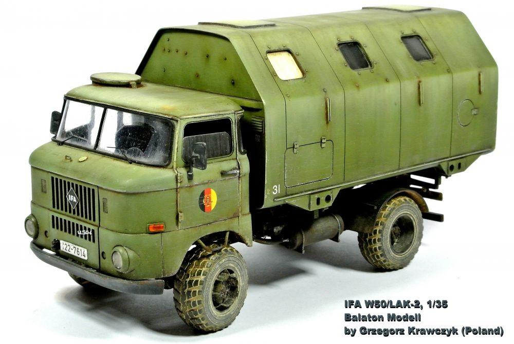 Balaton Model IFA W50 /LAK-2